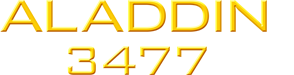 ALADDIN 3477 Logo