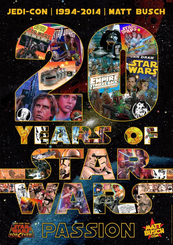 Matt Busch's 20th Anniversary of Star Wars Art