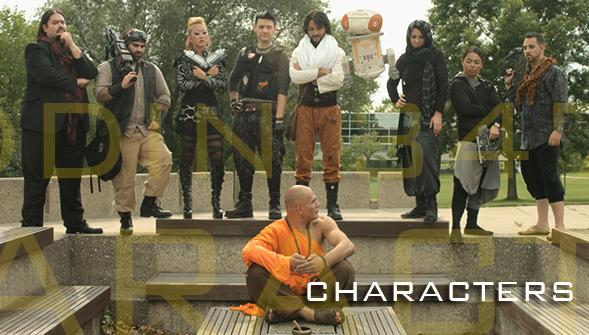 Clockwise from left: Jinn Manish, T Rox, Keeta Ratana, Brej, Aladdin Bhaskara, Fidgi, Oomi, Shen, Zade and Bang.