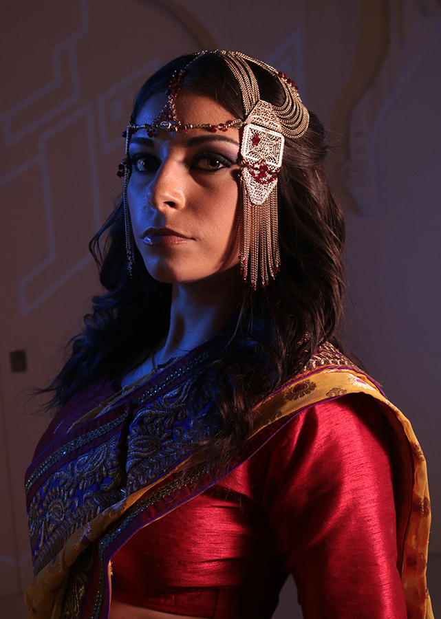 Christi Perovski as Princess Kamala in ALADDIN 3477.