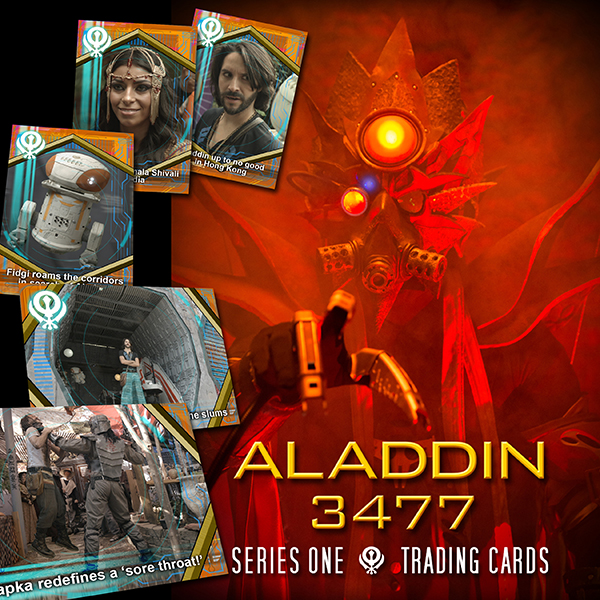 Aladdin 3477 Series One Trading Cards