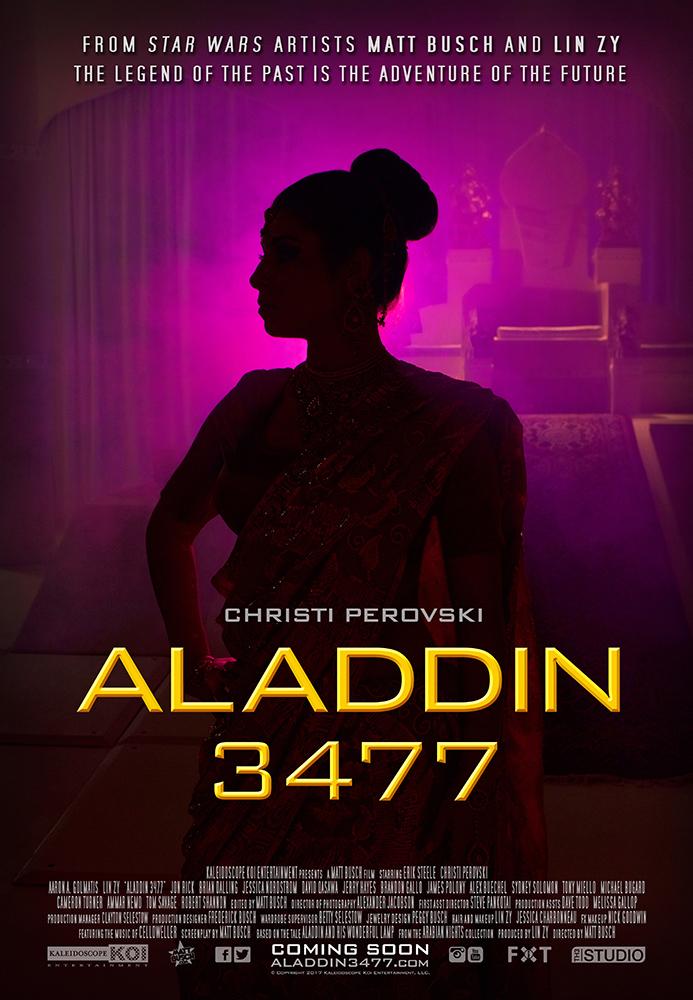 Aladdin 3477 Teaser Poster C: Princess Kamala!